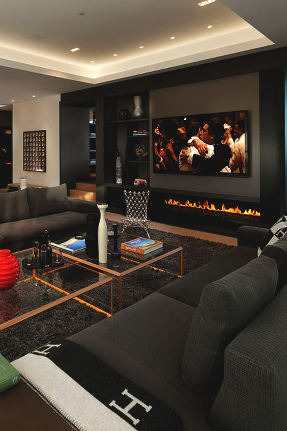 Uber cool living and games room