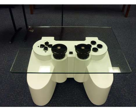 Novelty games console coffee table