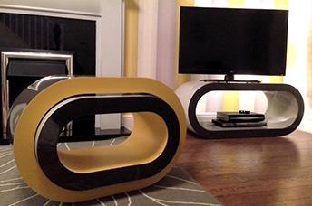 Customisable side tables designer lamp tables zespoke aloadofball Images